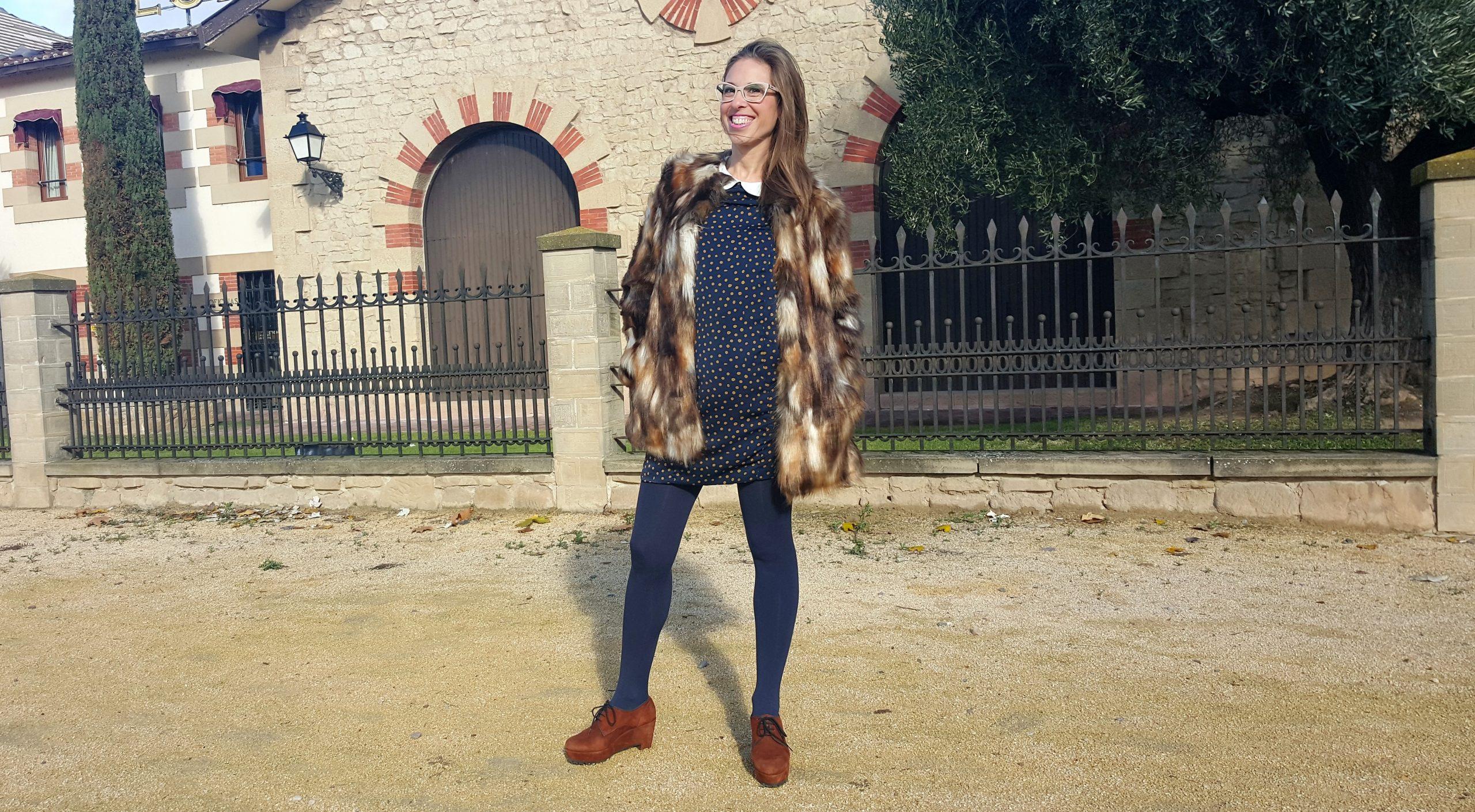 ANA LOCKING EN BODEGAS FRANCO-ESPAÑOLAS: maridaje perfecto de moda y vino.