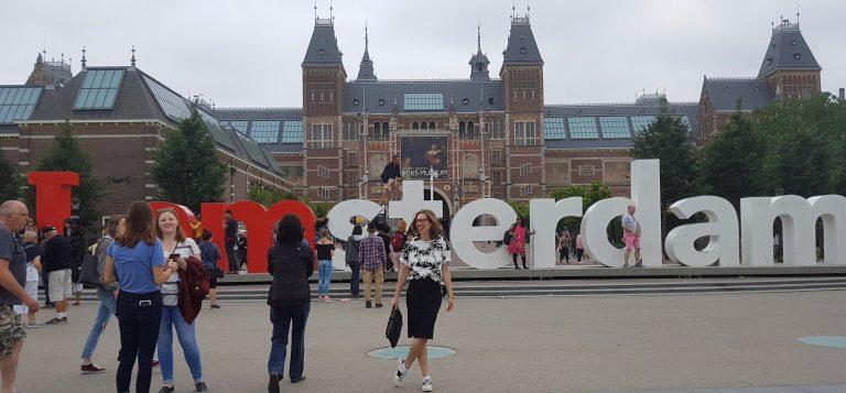 ESCAPADA A ÁMSTERDAM II: de paseo con MaryLuis